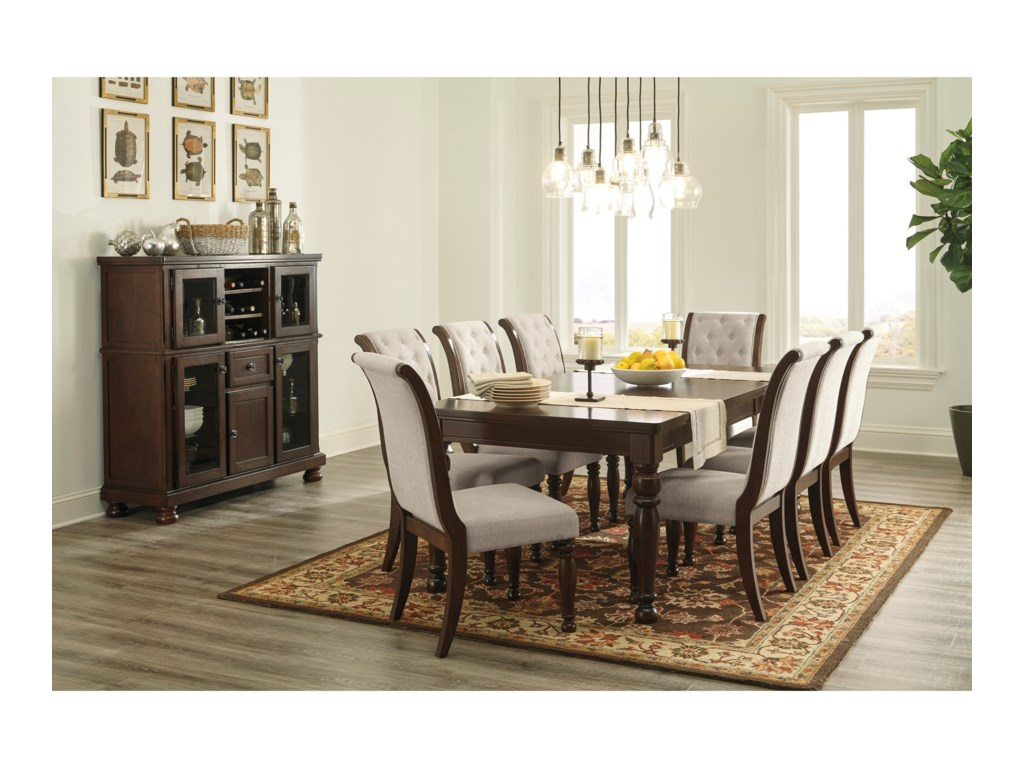 Porter Formal Dining Room Group by Ashley Furniture at Gill Brothers  Furniture