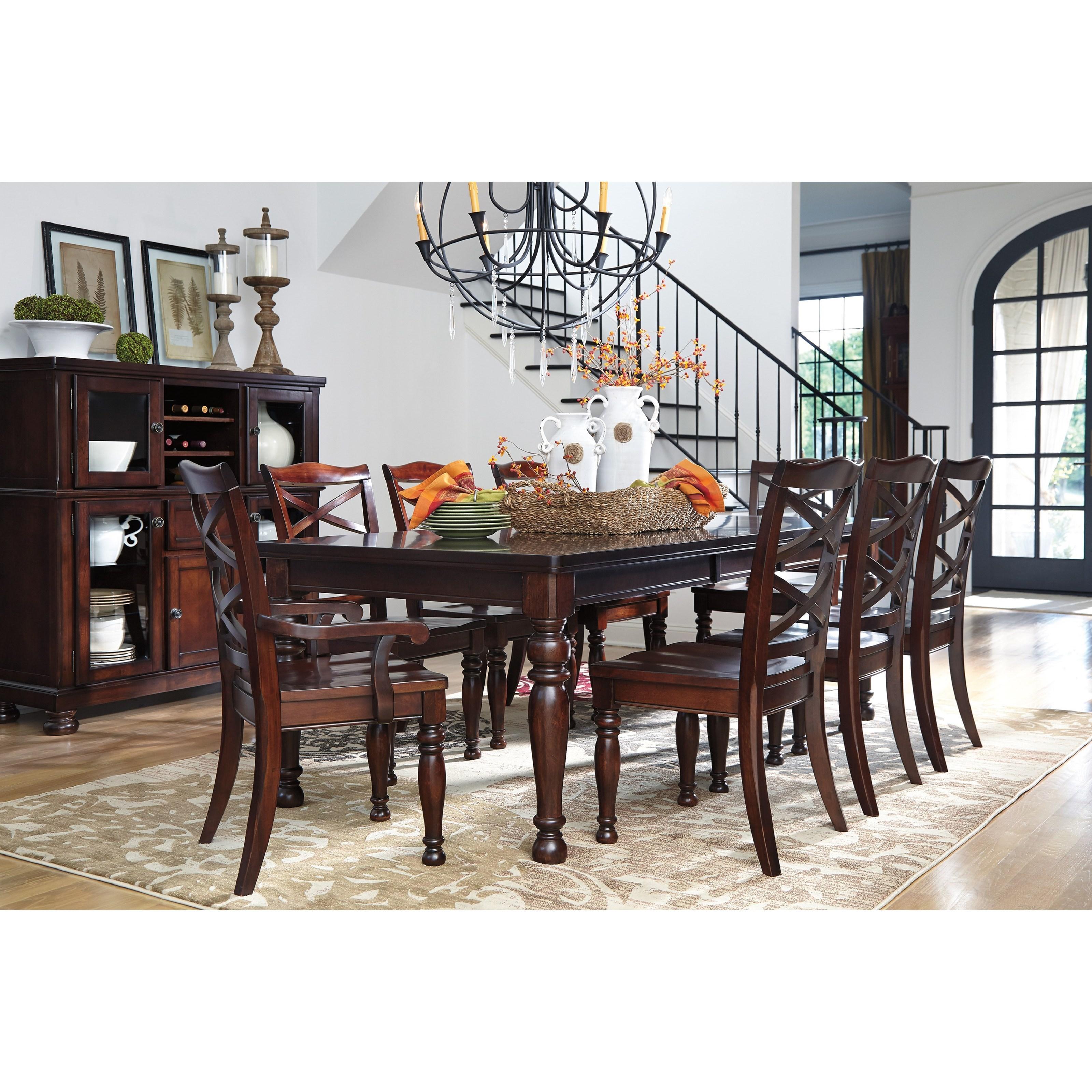 Ashley Furniture Porter Formal Dining Room Group