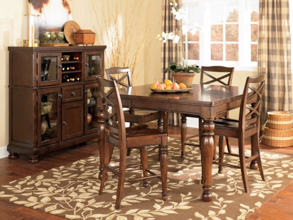 Casual Dining Room Group Greenville Spartanburg