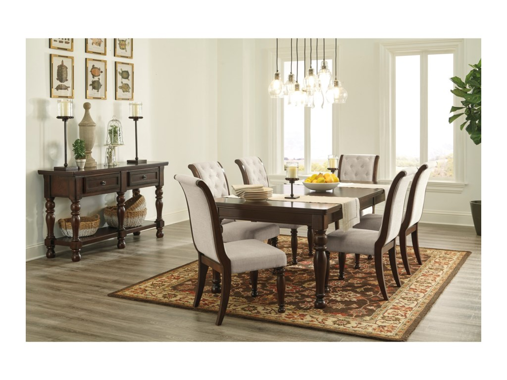 Ashley Furniture PorterCasual Dining Room Group