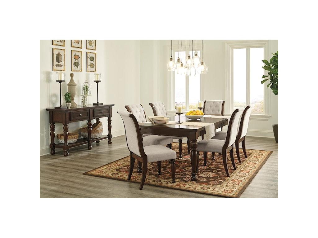 Ashley Furniture PorterDining Upholstered Side Chair