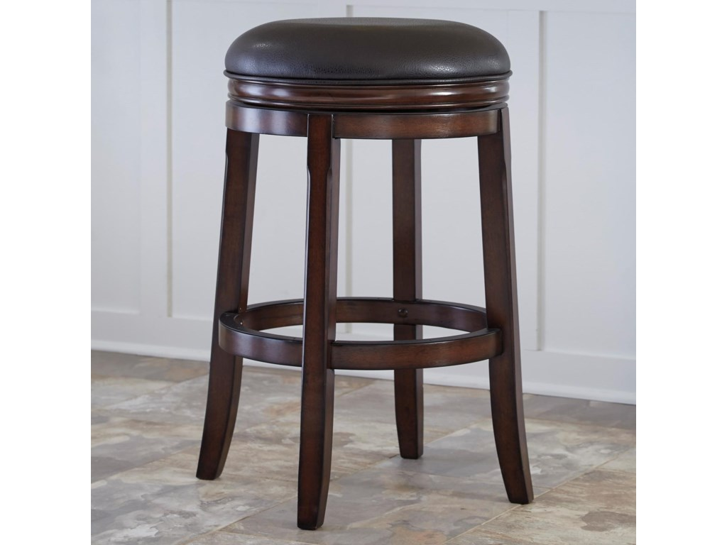 Millennium PorterTall Upholstered Swivel Stool