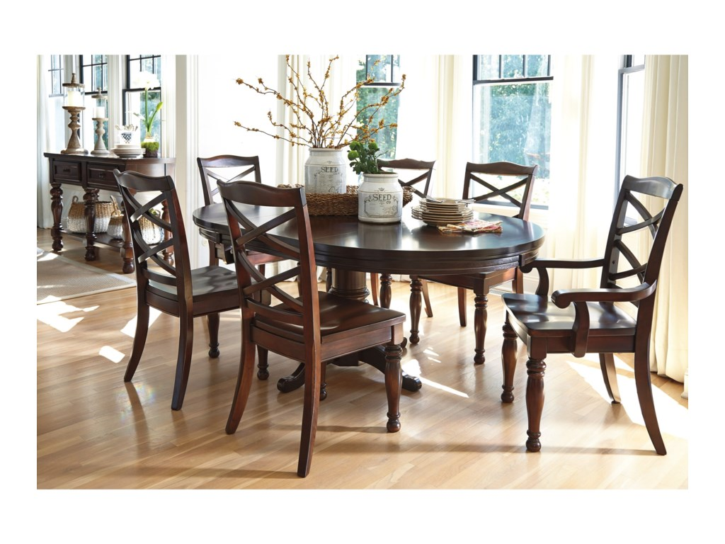 Ashley Furniture Porter7-Piece Round Dining Table Set