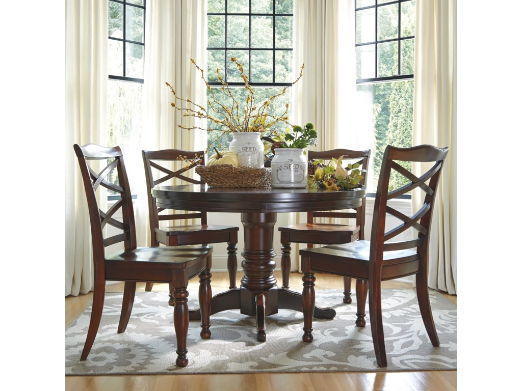 Ashley Furniture Porter5 Piece Round Dining Table Set