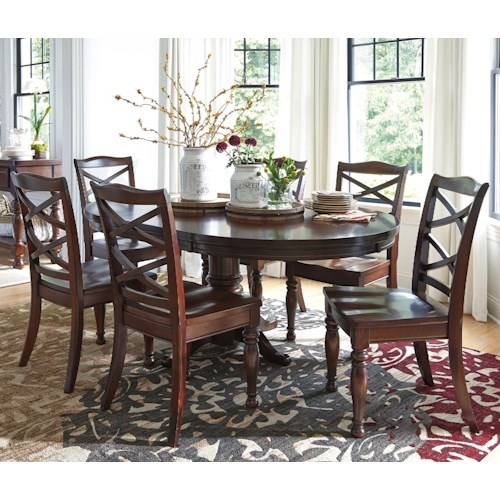 Ashley Furniture Porter Piece Round Dining Table Set Northeast - Ashley furniture high top table