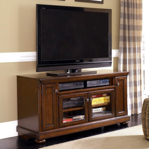 Ashley Furniture Porter 60 Large Tv Stand Rooms For Less Tv Stands