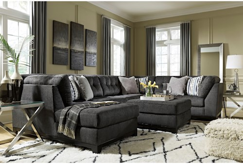 Ashley Furniture Reidshire Stationary Living Room Group ...