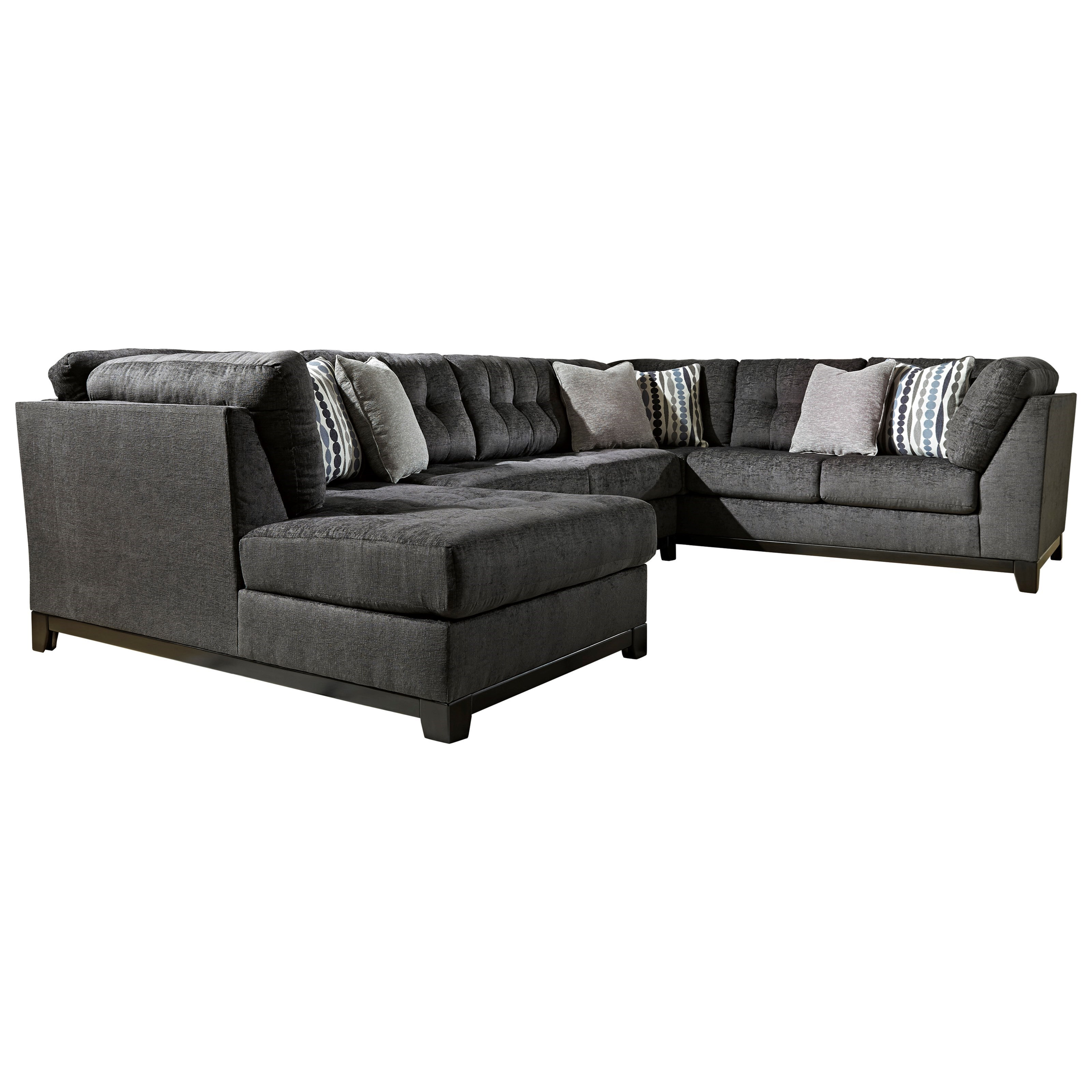 Ashley Furniture ReidshireSectional Sofa With Left Side Chaise ...
