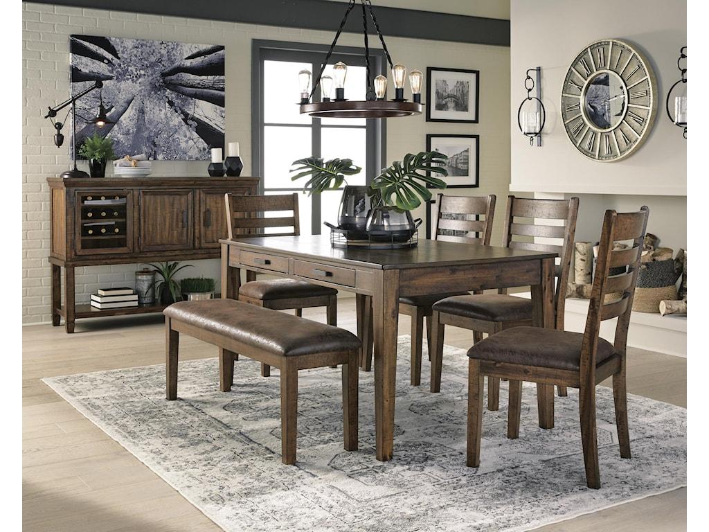 Royard 14 PC Dining Room Set