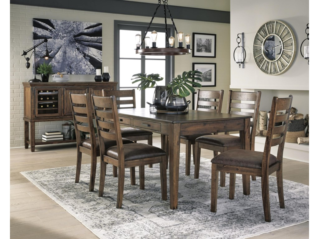 Royard 8 PC Dining Room Set