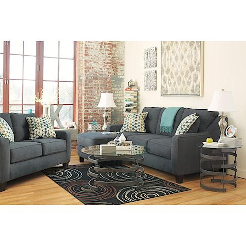 Ashley Furniture Shayla Stationary Living Room Group