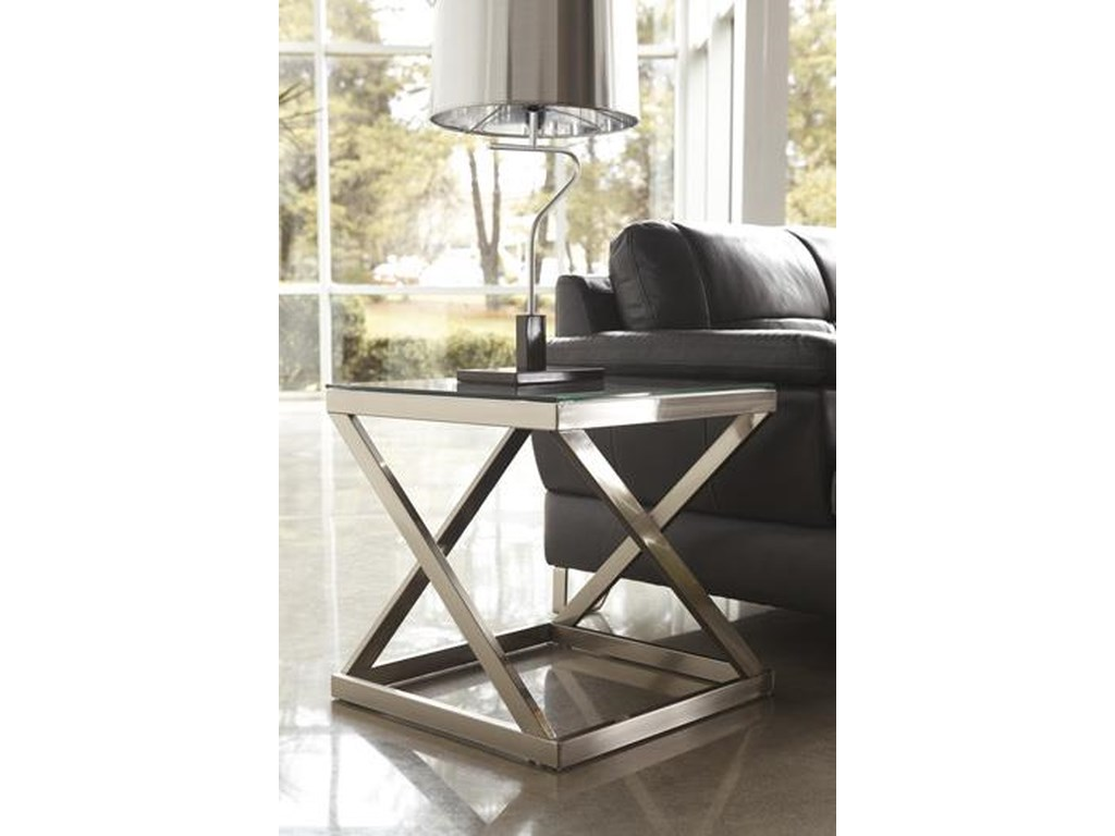 Ashley Furniture Coylin T136 2 Square End Table T136 2 Square End