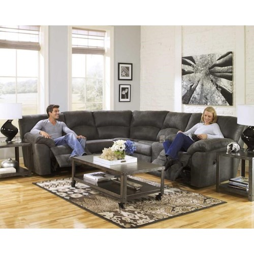Ashley Furniture Tambor Two Piece Reclining Sectional