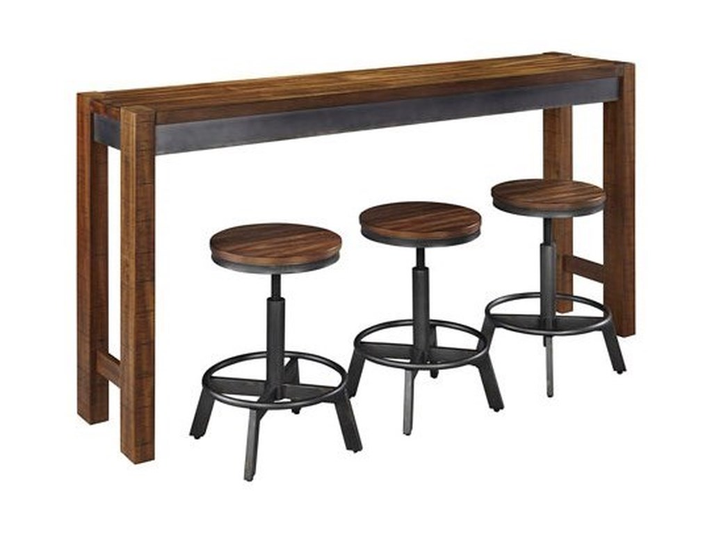 Signature Design by Ashley Torjin4 Piece Long Counter Table Set