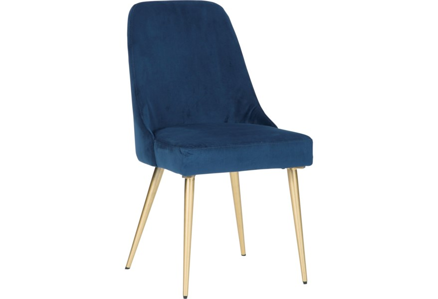 Ashley Furniture Trishcott Contemporary Dining Upholstered Side Chair Standard Furniture Dining Side Chairs
