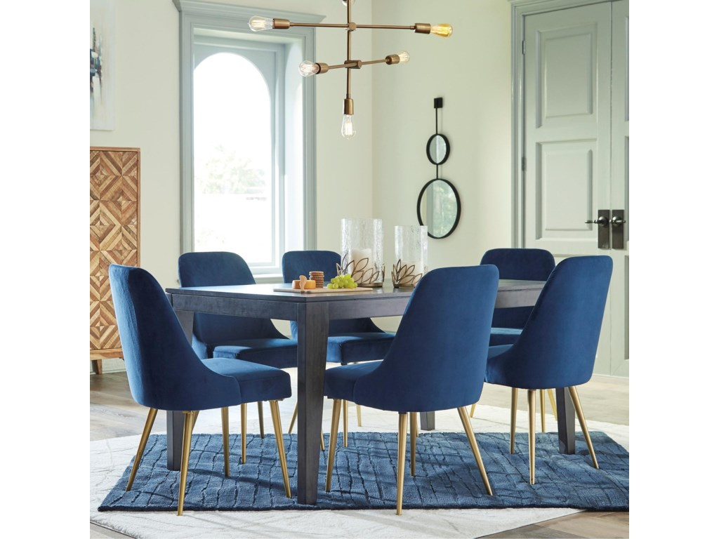 Ashley Furniture Trishcott7-Piece Table and Chair Set