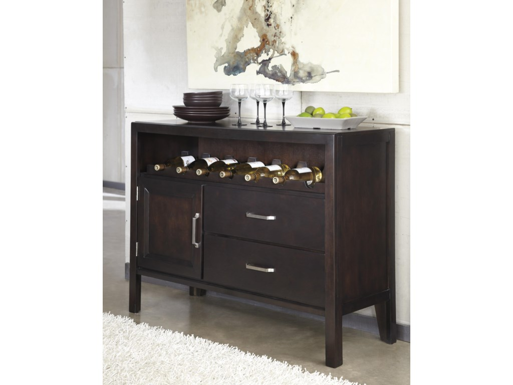 Ashley Furniture Trishelle Contemporary Dining Room Server With - Dining room servers