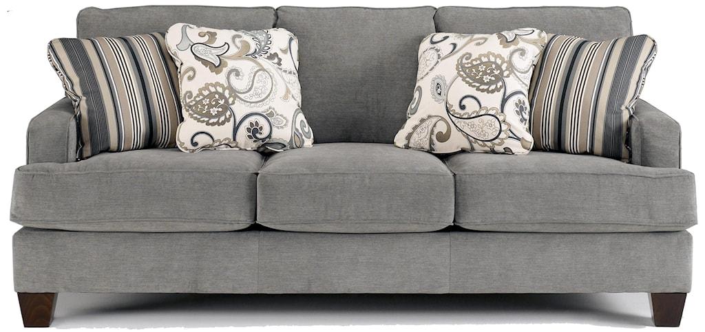Ashley Furniture Yvette - Steel Stationary Sofa W/ Loose Seat Cushions -  Furniture And ApplianceMart - Sofa