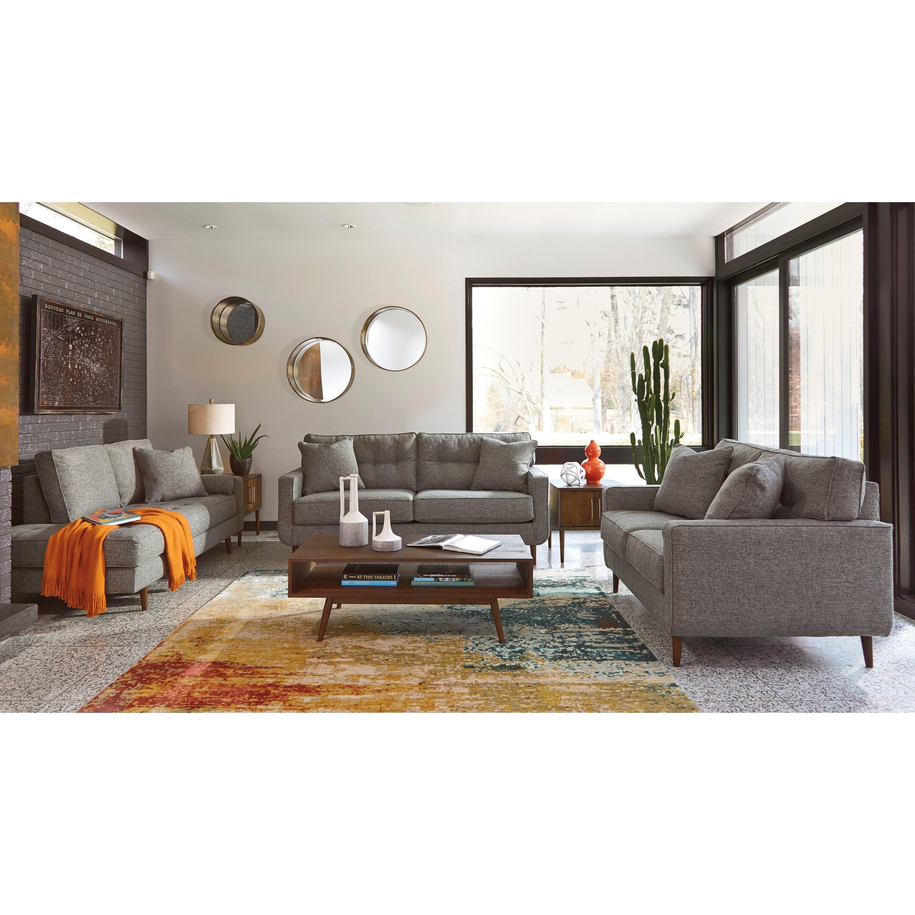 Ashley Furniture Zardoni Stationary Living Room Group
