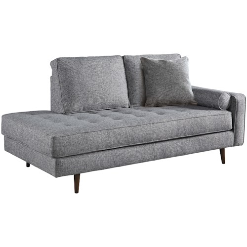 goode chaise modern sold mid lounge century lynn collection