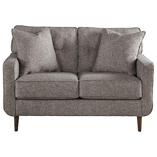 Ashley Furniture Zardoni Mid-Century Modern Loveseat