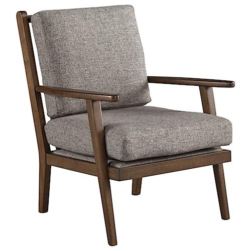 Ashley Furniture Zardoni Danish Modern Style Accent Chair