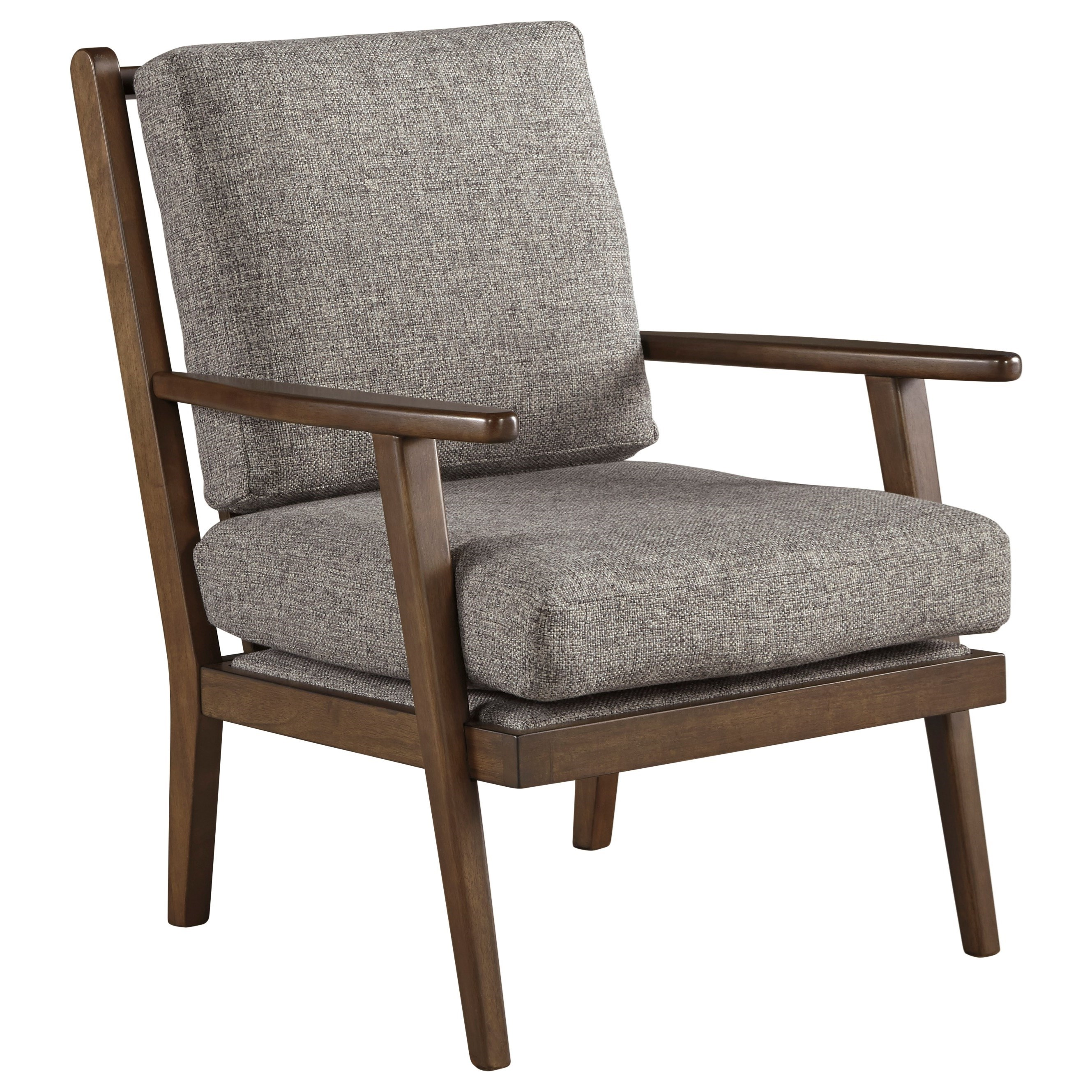 Ashley Furniture ZardoniAccent Chair ...  sc 1 st  Furniture and ApplianceMart & Ashley Furniture Zardoni 1140260 Danish Modern Style Accent Chair ...