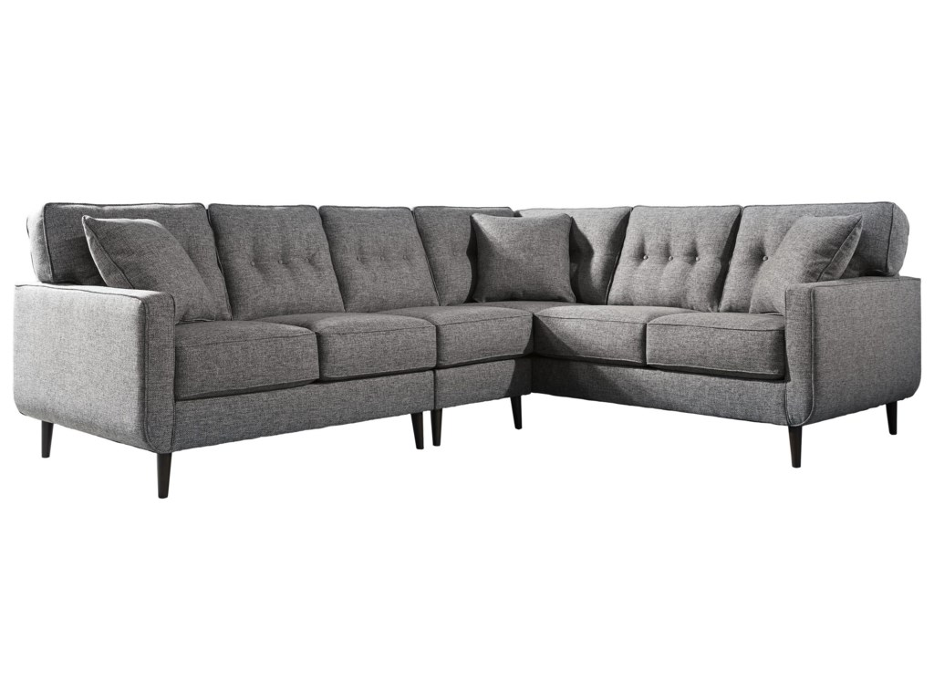Ashley Furniture Zardoni3PC Sectional and Accent Chair Set