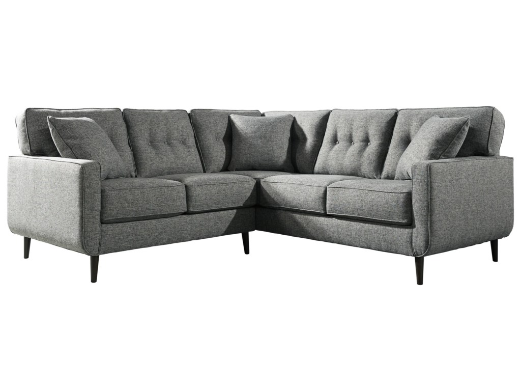 Ashley Furniture Zardoni2 Piece Right Arm Facing Sectional with Acce