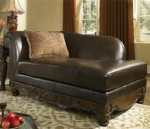 Millennium North Shore - Dark Brown Leather Corner Chaise