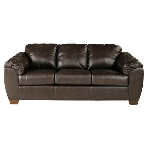 Millennium Franden DuraBlend - Cafe Contemporary Upholstered Stationary Sofa