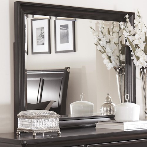 Millennium Greensburg Beveled Bedroom Mirror