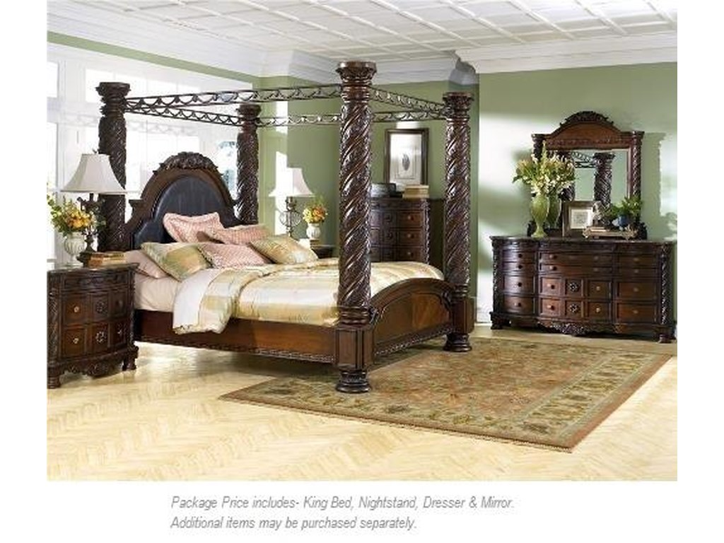 Millennium North Shore4PC King Bedroom Group