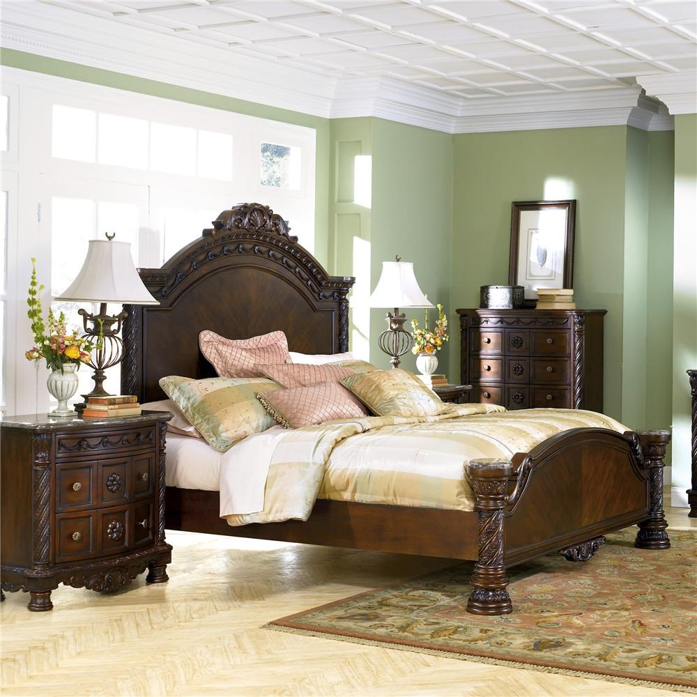 Perfect Millennium North Shore Eastern King Panel Headboard And Footboard Bed