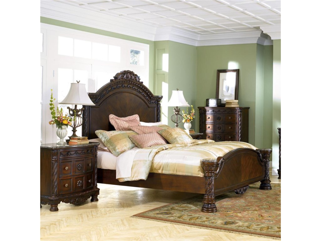 Millennium North ShoreCalifornia King Panel Bed
