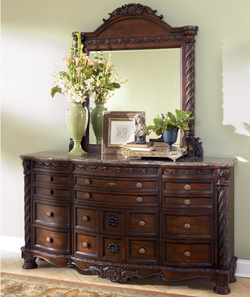 Millennium North Shore Multidrawer Dresser w/ Mirror