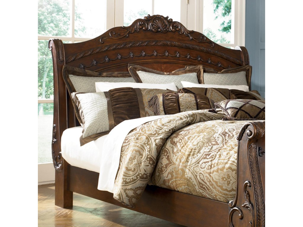 Millennium North ShoreQueen Sleigh Headboard