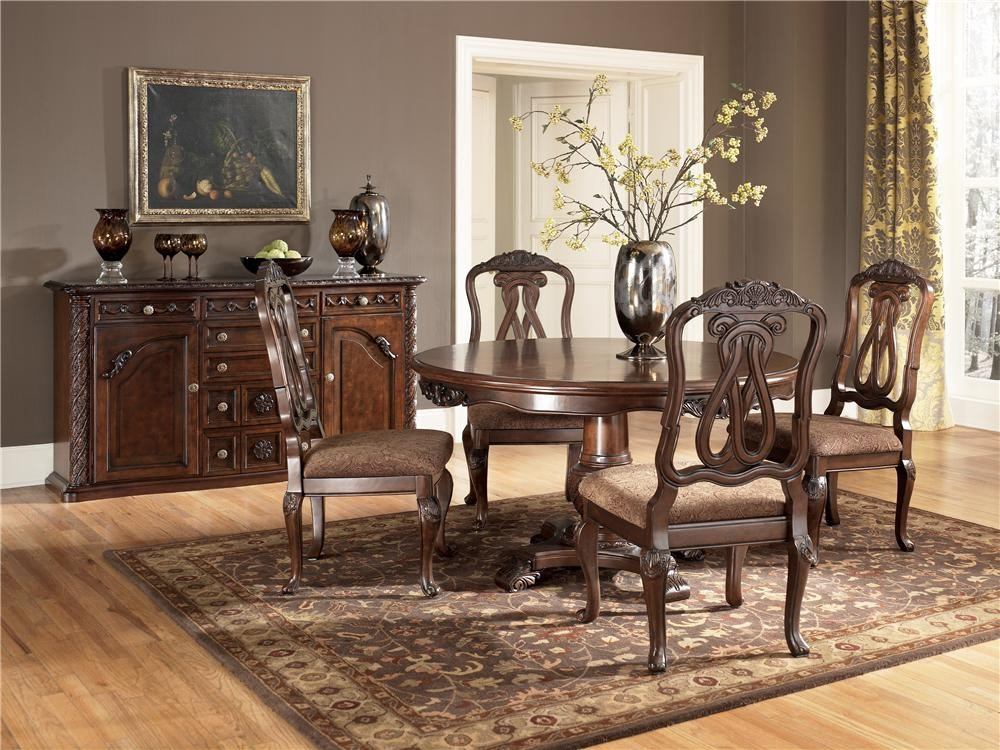 Shown with Single Pedestal Table