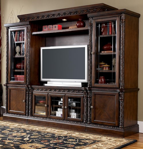 Millennium North Shore Traditional Entertainment Wall Unit