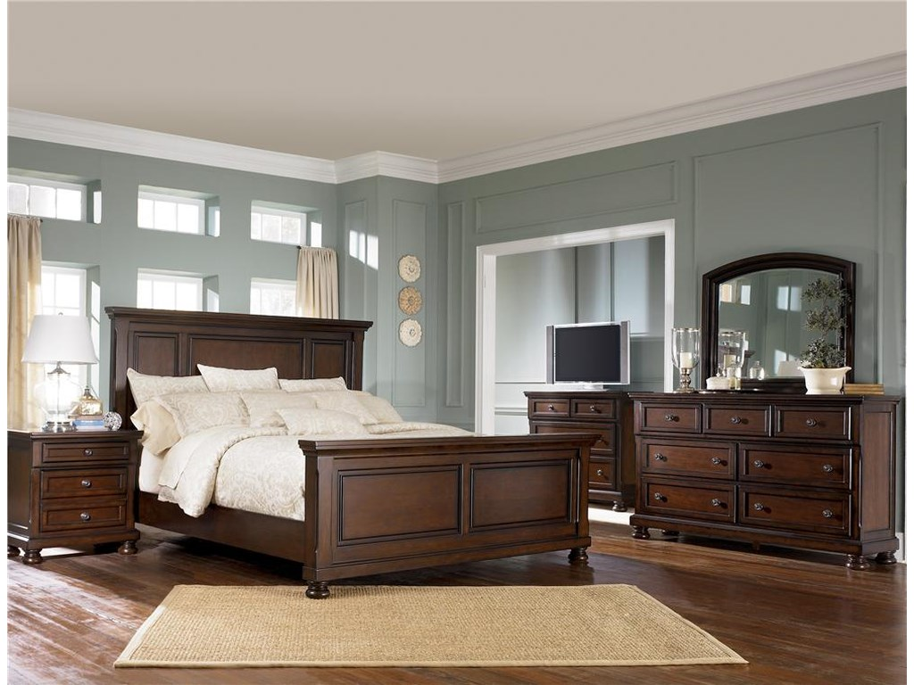 Ashley Furniture PorterDresser & Mirror Combo