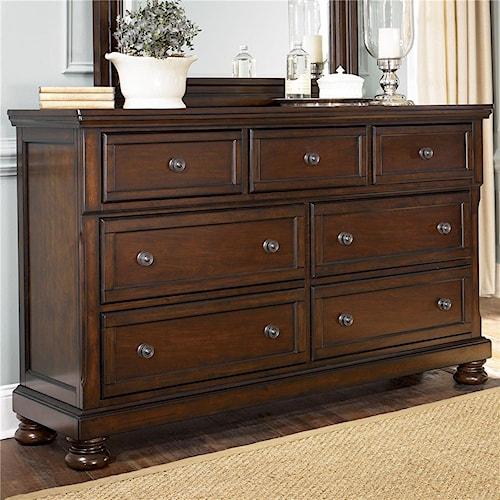 Ashley Furniture Porter 7 Drawer Dresser Wayside Furniture Dressers