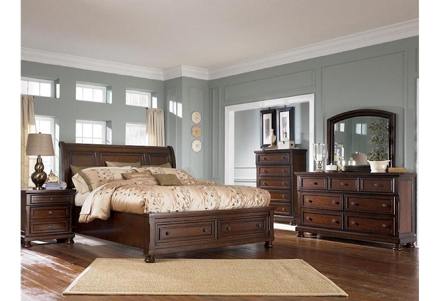 Ashley Furniture Porter B697 31 7 Drawer Dresser Northeast Factory Direct Dressers