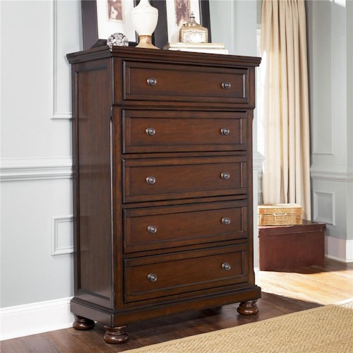 Ashley Furniture Porter 5 Drawer Chest