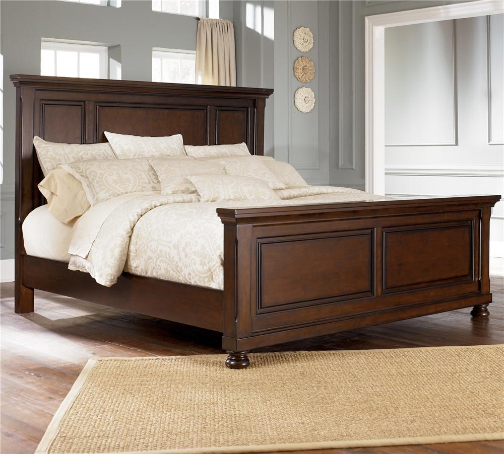 Picture of: Ashley Furniture Porter King Panel Bed Wayside Furniture Panel Beds