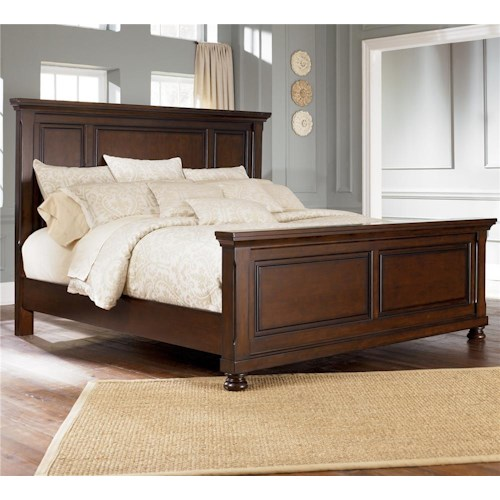 Porter King Panel Bed Dimensions