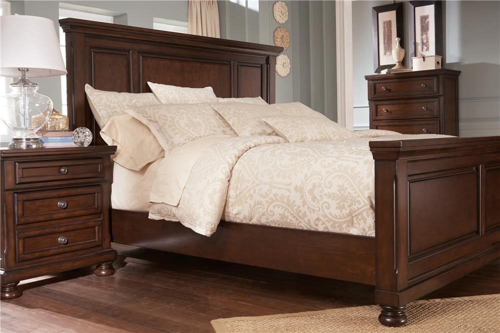 Ashley Furniture Porter King Panel Bed Wayside Furniture Panel Beds