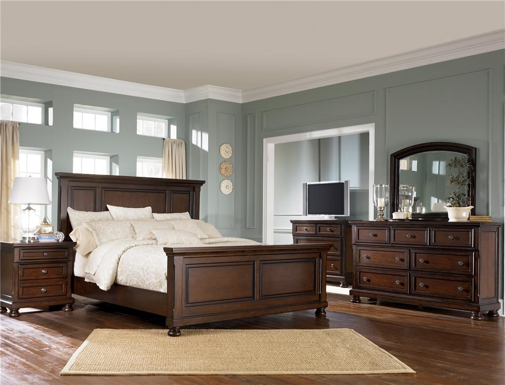 Shown with Panel Bed, TV Chest, Dresser & Mirror
