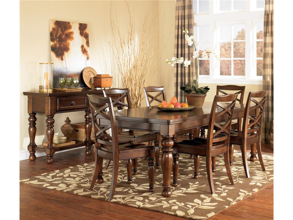 Shown with Table, Arm Chair & Server