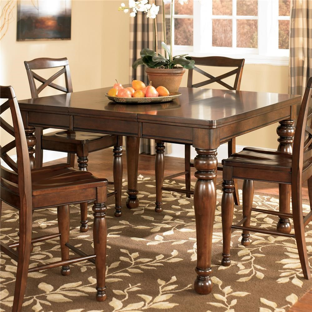 valuable design ashley furniture kitchen chairs stylish ideas ashley furniture porter counter height extension table