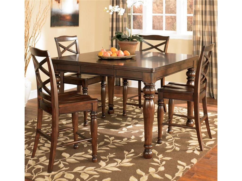 Shown with 4 Bar Stools